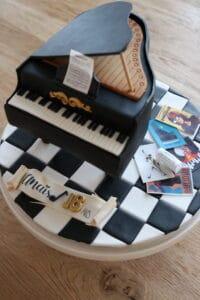 gateau piano